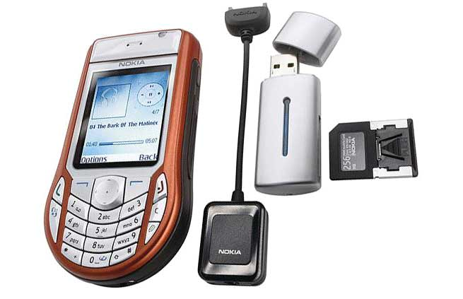Nokia 6630 package cavo USB
